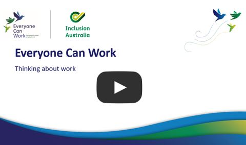 Everyone Can Work - Thinking about work workshop recording. Goes to YouTube.